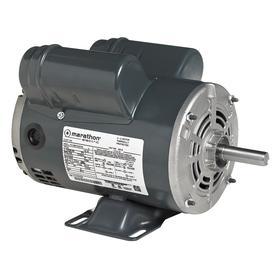 Regal AC Motor: Single Phase, 3/4 hp Output Power, 1425 RPM/1725 Nameplate RPM, 56C NEMA Frame Size, 120V AC/240V AC