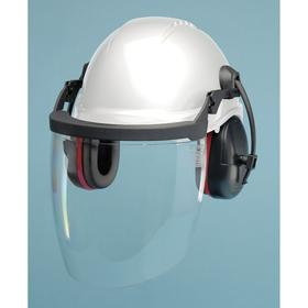 Hard Hat Component Kit: ANSI Impact Type Rating I, ANSI Electrical Class Rating E, Pinlock, 4 point, Polypropylene