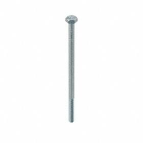 "Steel Hex Cap Screw: Zinc Plated, Grade 5 Material Grade, 1/4""-28 Thread Size, 5 in Shank Lg, Partially Threaded, 25 PK"