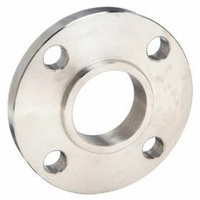 Socket Weld Stainless Steel Flange: 150 Class, 1 1/4 Pipe Size, 4 5/8 in Flange Outer Dia, 3 1/2 in Bolt Circle Dia