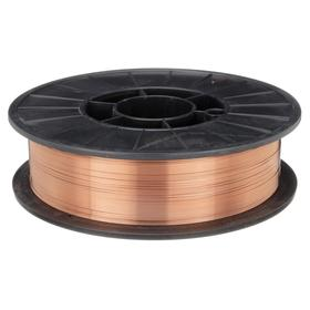 MIG Welding Wire: ER70S-6 AWS Classification, 0.045 in Overall Dia, DC+ For Welding Current, 12 in Spool OD