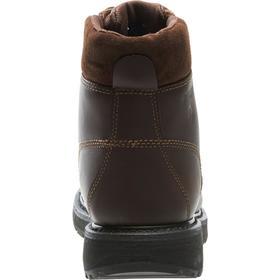 Wolverine Leather Work Boot: Compression/Electrical Hazard/Impact/Metatarsal Guard, 2E Shoe Wd, 10 Men's Size, Men, 1 PR