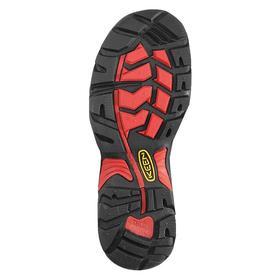Waterproof Work Shoe: Gen Use, 2E Shoe Wd, 14 Men's Size, Men, Steel, Leather, Brown, Electrical Hazard Rated, 1 PR
