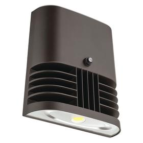 Acuity Lithonia Light Responsive Wall-Mount Fixture: LED, 10 to 15 ft Recommended Mounting Ht, 83 Color Rendering Index