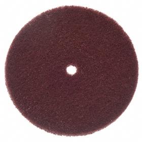 Norton Sanding Disc: Very Fine Relative Grit Grade, 8 in Disc Dia, 1/2 in Center Hole Dia, Aluminum Oxide, Non-Woven
