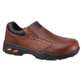 Dress-Casual Work Shoe with Metatarsal Guard: Metatarsal Guard/Slip Resistant, D Shoe Wd, 10 1/2 Men's Size, Men, 1 PR