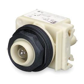 Schneider Electric Pilot Light without Lens: 24V AC/DC, Full Volt, For Incandescent, Metal, Pressure Plate