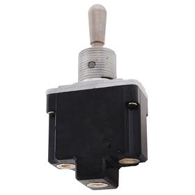 Honeywell Heavy-Duty Toggle Switch: 1/2 in Mounting Hole Dia, 3 Positions, 10 A @ 277V AC Switch Rating (AC), 1 Poles, On-Off-On