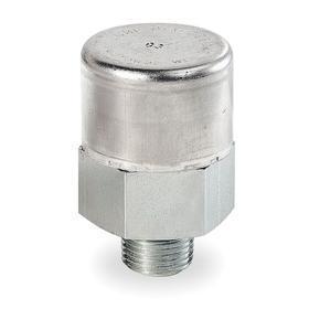 Vent Plug: 20 micron Filter Rating, Steel - Gamut