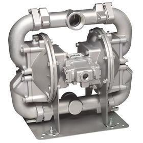 Air-Operated Double Diaphragm Pump: 140 gpm Max Flow Rate