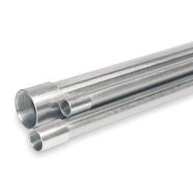 Aluminum Rigid Conduit (ARC): Bright, 1 in Trade Size, 1.31 in Conduit OD, 1.19 in Conduit ID, 10 ft Nominal Lg, Female
