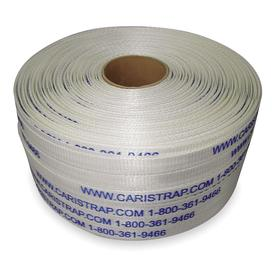 Heavy Duty Cord Strapping: Polyester, Hand, Woven, Indoor/Outdoor, 1/2 in Strapping Wd, 1275 lb Breaking Strength, 2 PK
