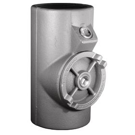 Emerson Haz-Location Sealing Fitting: Vertical & Horizontal Conduit Seal, Female to Female, 9 3/16 in Overall Lg, Iron