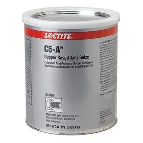 Loctite Conductive Anti-Seize Lubricant: Copper, 1 gal, Can, For Aluminum/Soft Metal/Stainless Steel/Steel