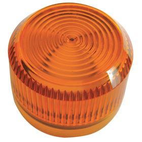 Eaton Pilot Light Lens: 2.19 in Overall Lg, Designed for Most Rugged Industrial Applications, Amber, Repl Lens