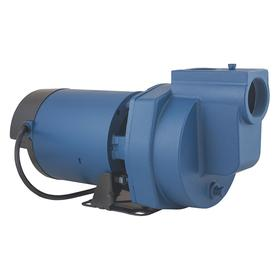 Flint & Walling Single-Stage Booster Pump: Continuous Motor Duty Class, (ODP) Open Drip Proof, Closed, 1 Phase, 115/230V AC, Ball