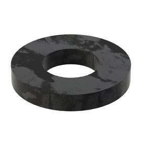 Flat Washer: Steel, Black Oxide, Case Hardened Material Grade, For 3/4 in Screw Size, 0.782 in ID, 1.625 in OD, 5 PK
