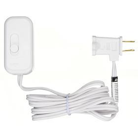 Slider Dimmer Switch: For CFL/Halogen/Incandescent/LED, Slide Dimmer, 120V AC, 250 A Switching Current, White