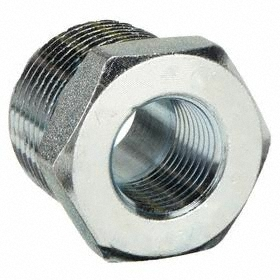Galvanized Pipe Bushing 3000 Class NPT 1 1/4 Pipe Size (  sc 1 st  Gamut : galvanized pipe sizes - www.happyfamilyinstitute.com