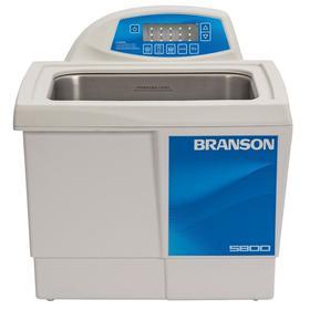 Ultrasonic Laboratory Bath: 2.5 gal Capacity, Digital Display & Heater, 11 1/2 in Tank Ht, 9 1/2 in Tank Wd, 120V AC