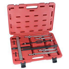 Bearing Puller Set: 7 ton Holding Capacity, 9 in Max Reach, 9 in Max Spread, 4 Jaws, 10 Pieces