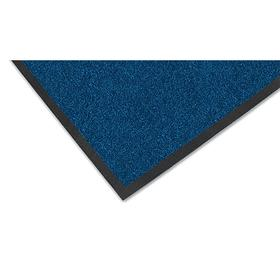 Notrax Entrance Mat: Stain Resistant, Rectangle, 4 ft Wd, 6 ft Lg, 5/16 in Thickness, Navy, Tufted, Polypropylene, Vinyl