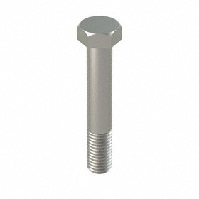 "18-8 Stainless Steel Hex Cap Screw: 18-8 Stainless Steel, 5/8""-11 Thread Size, 3 3/4 in Shank Lg, 15/16 in Head Wd, 5 PK"