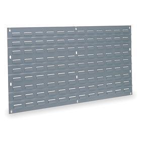 Akro-Mils Louvered Panel: 160 lb Max Load Capacity, 19 in Overall Ht, 35 3/4 in Overall Wd, 1/4 in Overall Dp, Steel