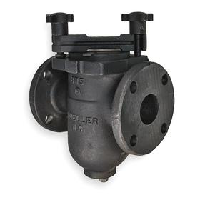 Metal Basket Strainer: 3 in Pipe Size, Flanged, 200 psi Max Pressure, 31/500 in Filter Rating, 8 3/4 in Lg
