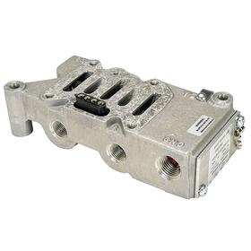 Parker Hannifin Valve Manifold: 1 Stations, For 3FEV9/3FEW1/3FEW3/3FEW7/3FEX1/3FEX3/3FEX5/3FEX8/3FEY1, Side, Single Sub Base