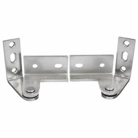Superieur Stanley Pivot Hinge: Center Hung, Top U0026 Bottom, Surface, Steel, Satin