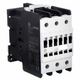 GE IEC Magnetic Contactor: 3 Poles, Single/Three Phase, 48 A Current Rating, 240V AC Control Volt, Std Terminal