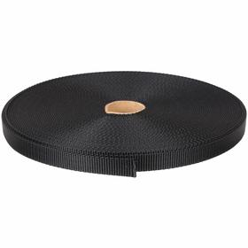Webbing: Nylon, 27 ft Overall Lg, Black, 3/4 in Overall Wd, 920 lb Max Load Capacity
