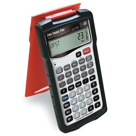Construction Calculator: 42 Key, 12 Display Digits, 5 5/8 in Lg, 3 in Wd, 5/8 in Dp, Battery Power Source