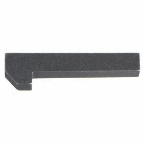 Taper Machine Key: 2 in Lg, +/-0.015 in Lg Tolerance, Square, 1/4 in Wd, -0.004 in Wd Tolerance, 1/4 in Overall Ht