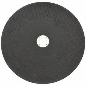 Cut-Off Wheel: Type 1 Type, 12 in Wheel Dia, 7/8 in Center Hole Dia, 0.125 in Wheel Thickness, Silicon Carbide, 10200 RPM Max RPM