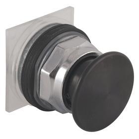 Schneider Electric Emergency Stop Push Button Operator: Non-Illuminated, Mushroom Operator, Momentary, Black, 40 mm Operator Dia