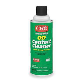 CRC QD Electrical Contact Cleaner: 11 oz Size, Aerosol Can