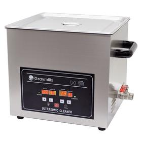Automotive Parts Washer: For Water, Benchtop, 1.7 gal Tank Capacity, 11 7/8 in Tank Lg, 5 7/8 in Tank Wd, 5 in Tank Dp