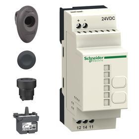 Schneider Electric Wireless Push Button Switch: Wireless Push Button Kit (Receiver & Transmitter Included), White