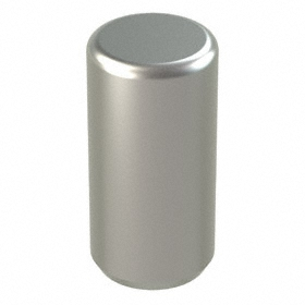 Dowel Pin: 416 Stainless Steel, Passivated, 1/8 in OD, 1/4 in Overall Lg, 1800 psi Double Shear Strength, 50 PK