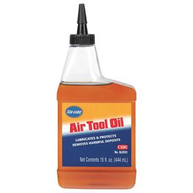 CRC Air Tool Oil: 22 ISO Grade, 10 SAE Grade, 15 fl oz Container Size, Clear
