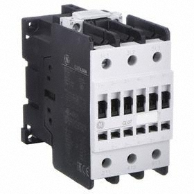 GE IEC Magnetic Contactor: 3 Poles, Single/Three Phase, 62 A Current Rating, 120V AC Control Volt, Std Terminal