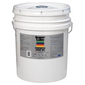 Super Lube Food Grade Gear Oil: 460 ISO Grade, Synthetic, 7 AGMA Grade, 140 SAE Grade, 30 cSt Viscosity @ 100° C, Bucket