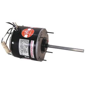 Regal Direct-Drive HVAC Motor: Condenser Fan, 1/6 hp Output Power, 48Y NEMA Frame Size, Totally Enclosed Air-Over (TEAO)