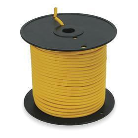 Portable Power Cable: SJTOW, 300V AC, 167° F Max Op Temp, 10 AWG Conductor Size, 3 Conductors, 0.57 in Cable OD, Yellow