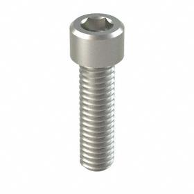"Socket Cap Screw: 18-8 Stainless Steel, 5/16""-18 Thread Size, 1 1/8 in Shank Lg, Fully Threaded, 0.312 in Head Ht, 50 PK"