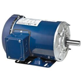 Regal AC Motor: Three Phase, 1 hp Output Power, 1140 Nameplate RPM, 56H NEMA Frame Size, 230V AC/460V AC, TEFC, Ball