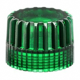 Schneider Electric Push Button Cap: 30 mm Compatible Panel Cutout Dia, Plastic, Green, Extended Compatible Operator