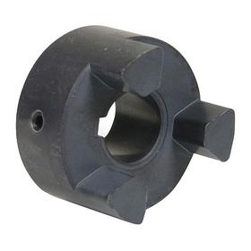 Jaw Flexible Coupling Hub: Inch, Iron, 2 17/32 in OD, 3 1/2 in Overall Lg, 1 3/8 in Bore Dia